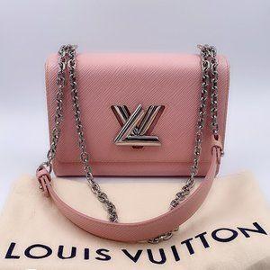 Authentic Louis Vuitton Pink Epi Twist MM
